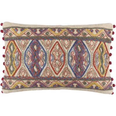 Fressia Striped Cotton Lumbar Pillow