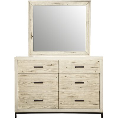 Drew 6 Drawer Dresser