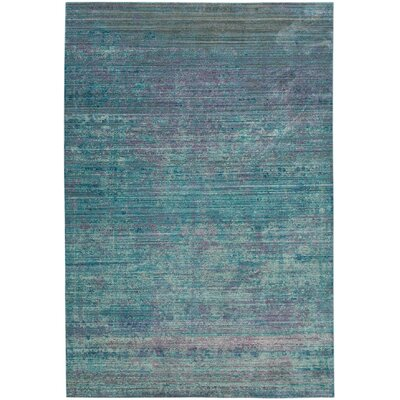 Thanh Turquoise Area Rug Rug Size: 4' x 6'