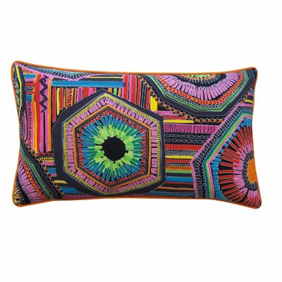 Zerktouni Cotton Throw Pillow Size: 12 x 20, Color: Black