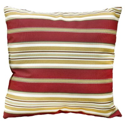 Quaria Throw Pillow Color: Roma Stripe