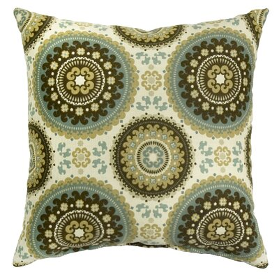 Quaria Throw Pillow Color: Spray