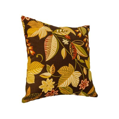 Alla Outdoor Throw Pillow Color: Timberland Floral