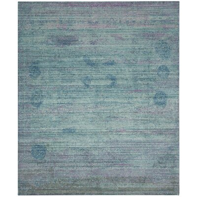 Thanh Turquoise Area Rug Rug Size: 8' x 10'