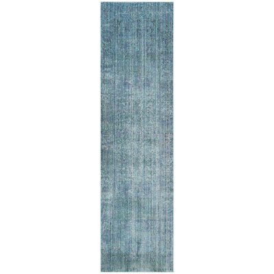 Thanh Turquoise Area Rug Rug Size: Runner 2'3