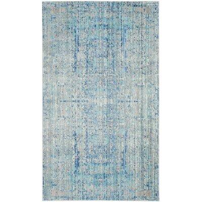 Koga Blue Area Rug Rug Size: 3 x 5