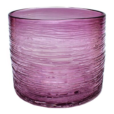 Bungalow Rose Round Glass Vase
