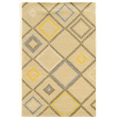 Abattoirs Hand-Tufted Green/Gray Area Rug Rug Size: Rectangle 8 x 11