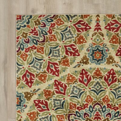 Albion Multicolor Area Rug Rug Size: Rectangle 76 x 10