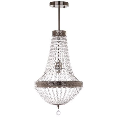 Steinfort Grand 1-Light Crystal Pendant
