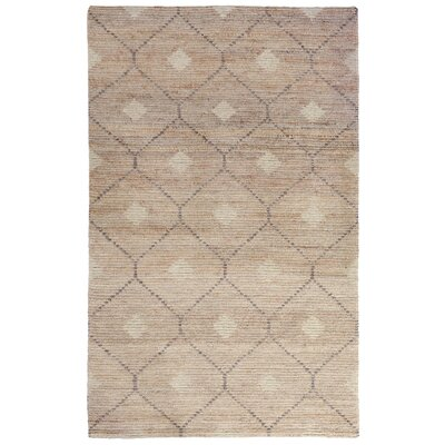 Veenendaal Hand-Woven Brown Area Rug Rug Size: 5 x 8