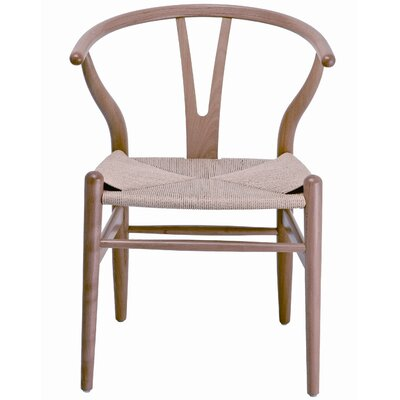 Abbott Side Chair (Set of 2) Finish: Natural