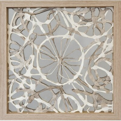 Abstract Layered Art Shadow Box Wall Décor