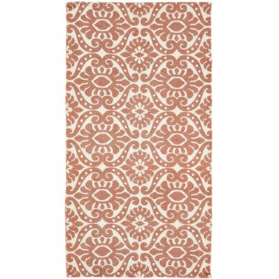 Armagh Orange Area Rug Rug Size: 2'3