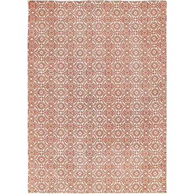 Armagh Orange Area Rug Rug Size: 8 x 11