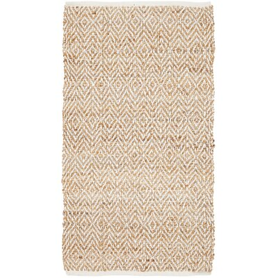 Conner Hand-Woven Natural Area Rug Rug Size: 23 x 4