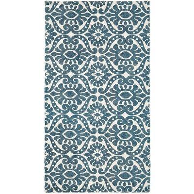 Armagh Blue Area Rug Rug Size: 23 x 4