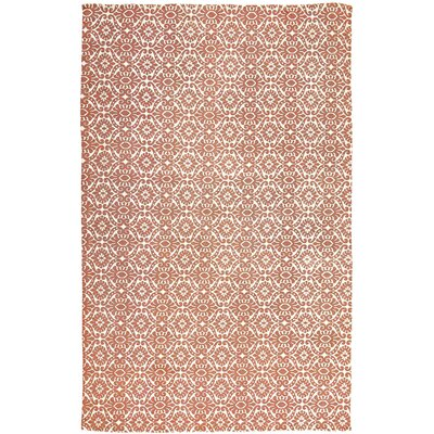 Armagh Orange Area Rug Rug Size: 6' x 9'