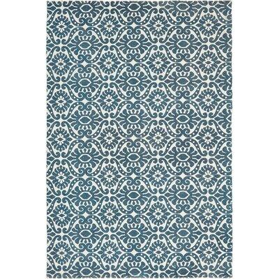 Armagh Blue Area Rug Rug Size: 4 x 6