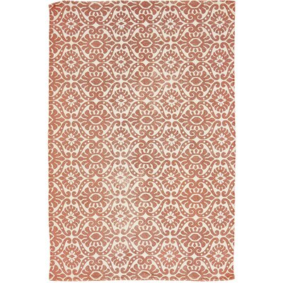 Armagh Orange Area Rug Rug Size: 4' x 6'
