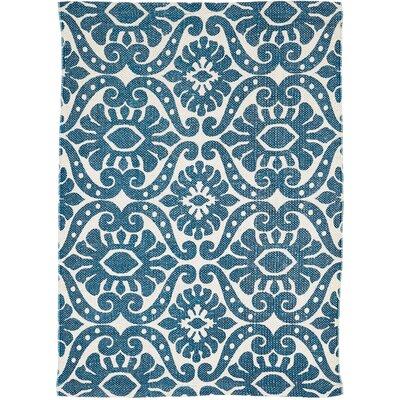 Armagh Blue Area Rug Rug Size: 18 x 26