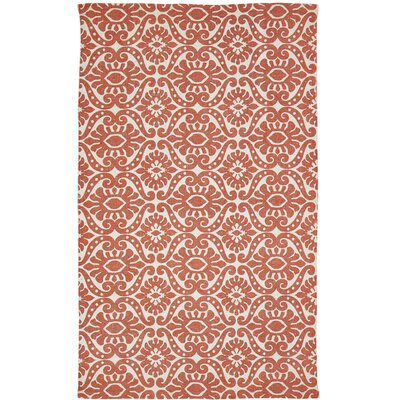 Armagh Orange Area Rug Rug Size: 3 x 5