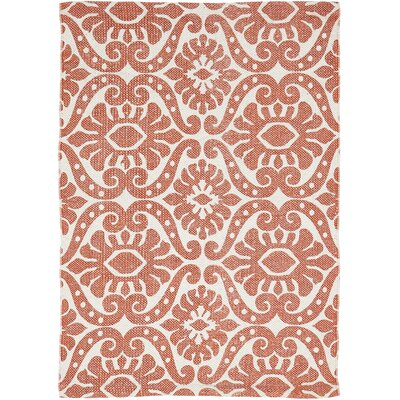Armagh Orange Area Rug Rug Size: 18 x 26