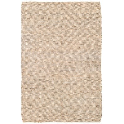 Conner Hand-Woven Natural Area Rug Rug Size: 6 x 9