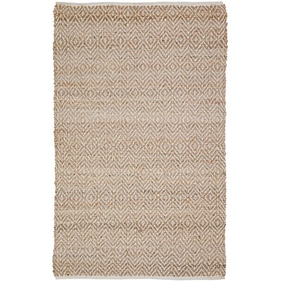 Conner Hand-Woven Natural Area Rug Rug Size: 3 x 5