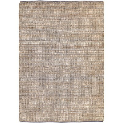 Conner Hand-Woven Grey / Beige Area Rug Rug Size: 8 x 11