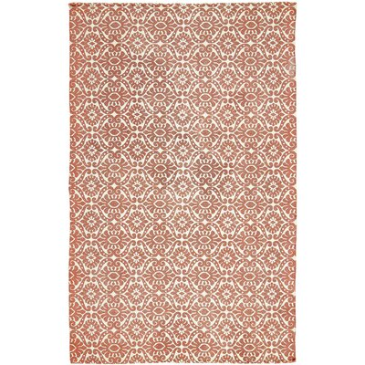 Armagh Orange Area Rug Rug Size: 5' x 8'