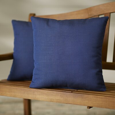 Majorelle Outdoor Throw Pillow Color: Echo Midnight