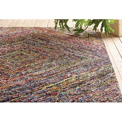 Anaheim Hand-Tufted Area Rug Rug Size: Square 4