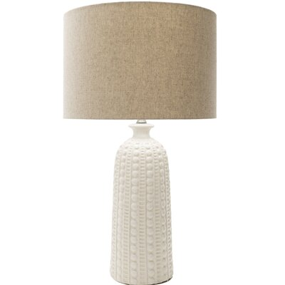 Marceline 29 Table Lamp Base Color: Cream