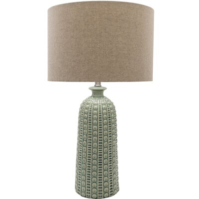 Marceline 29 Table Lamp Base Color: Green / Blue