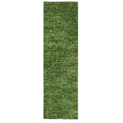 Torvehallerne Green Area Rug Rug Size: Runner 23 x 8
