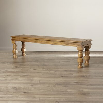 Luna Wood Dining Bench