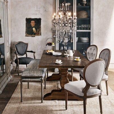 Elliott Dining Table Size: 30.75 H x 39.25 W x 110.25 D