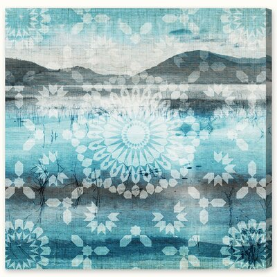 Private View of the Lake Canvas Print, Oliver Gal