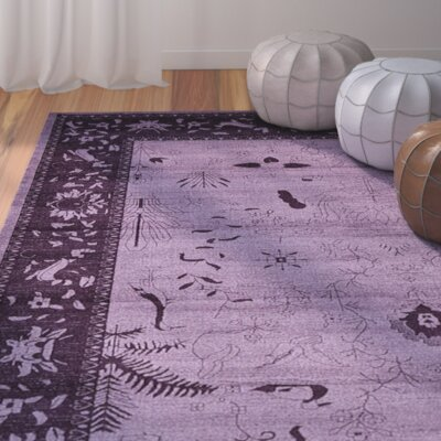 Shailene Purple Area Rug Rug Size: Rectangle 8 x 11