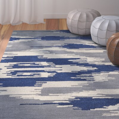 Hocca Hand-Tufted Blue Area Rug Rug Size: Rectangle 8 x 10