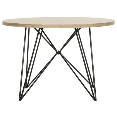 Aditi Coffee Table Top Finish: Acquer White