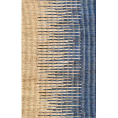 Purmerend Blue/Beige Area Rug Rug Size: Rectangle 76 x 96