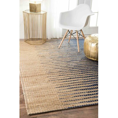 Purmerend Blue/Beige Area Rug Rug Size: Rectangle 5 x 8
