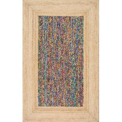 Ayoub Natural Area Rug Rug Size: 5 x 8