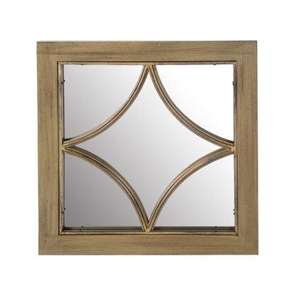 Wood & Metal Mirror