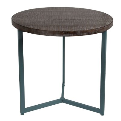 Brownstown End Table Finish: Blue
