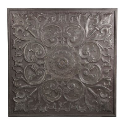 Square Metal Wall Décor