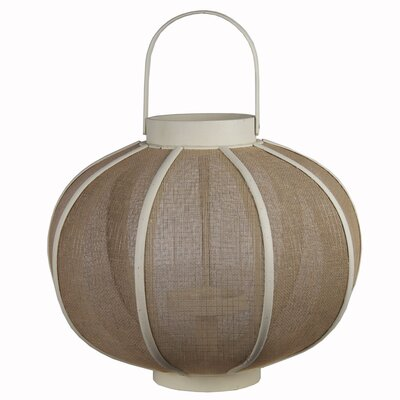 Wood Lantern Color: White