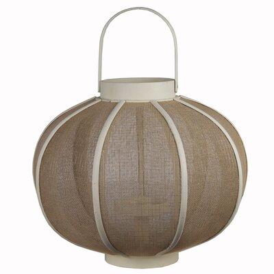 Wood Lantern Color: White